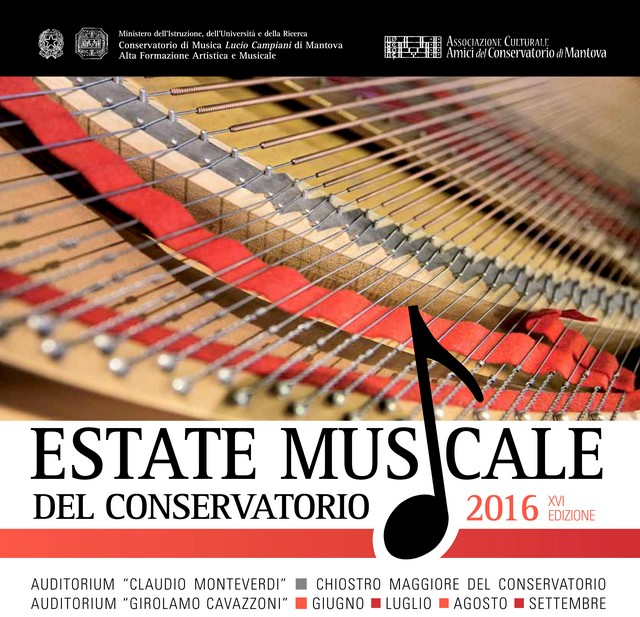 Mantova EstateConservatorio Logo