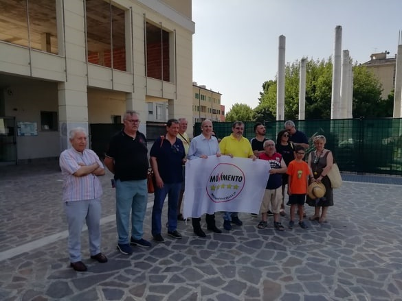Mantova QuickParking SitInProtesta-30Giugno