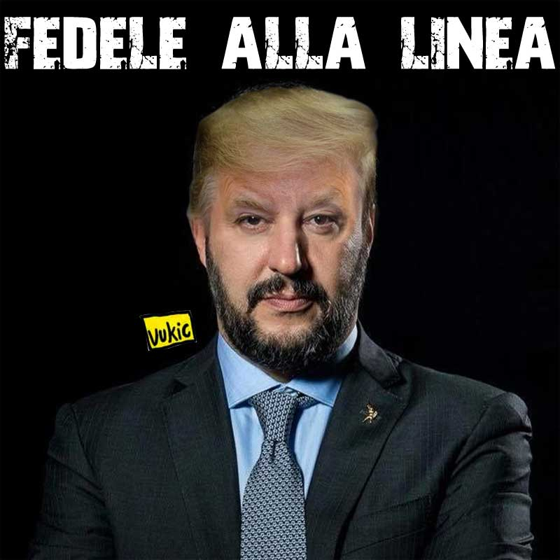 satira vukic1284 LineaTrump