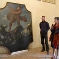 New entry a Palazzo Ducale. Acquisito un raro dipinto dello Schivenoglia. Bloccato prima di essere v...